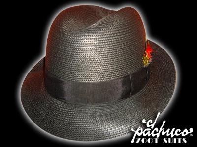 Black LowRider Straw Hat 6d874672a52