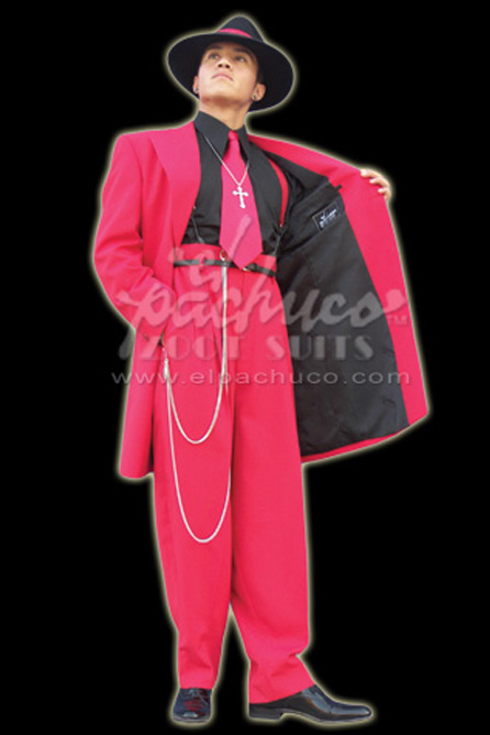 Crimson Red Zoot Suit