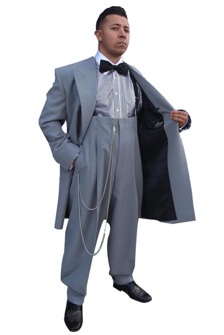 Custom Silver Bullet Zoot Suit