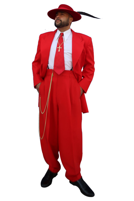 Red Devil Zoot Suit