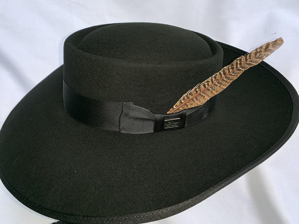 Black Tando Hat El Pachuco Zoot Suits