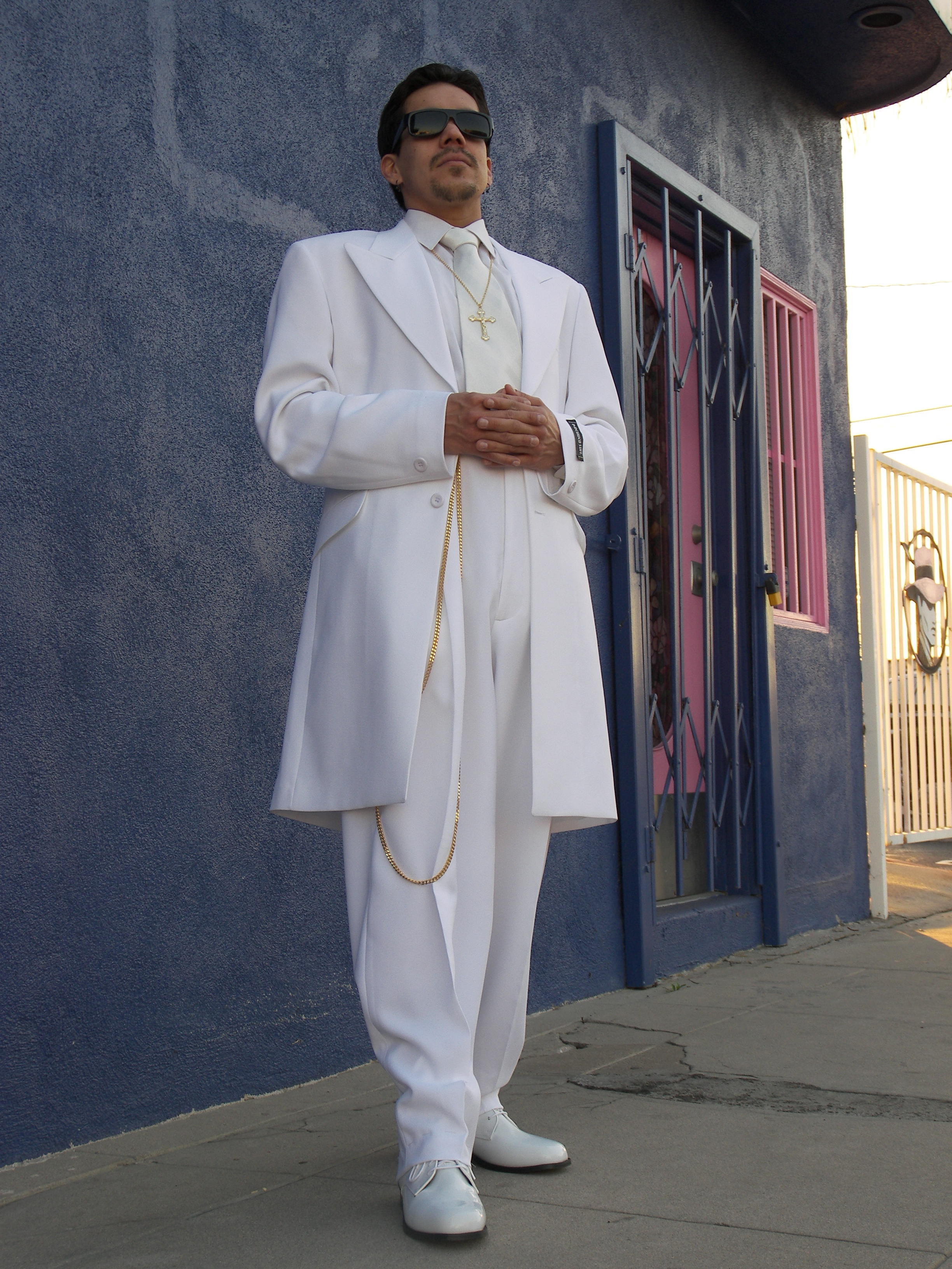 b95dae513a1 Iceberg White Zoot Suit