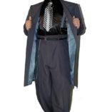 Charcoal Grey Zoot Suit