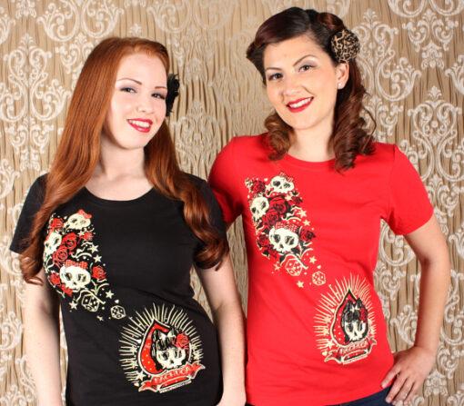 Skull and Bows T-Shirt