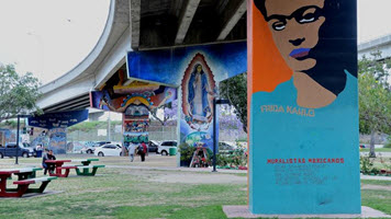 Study the colors and conflict that made San Diego's Chicano Park