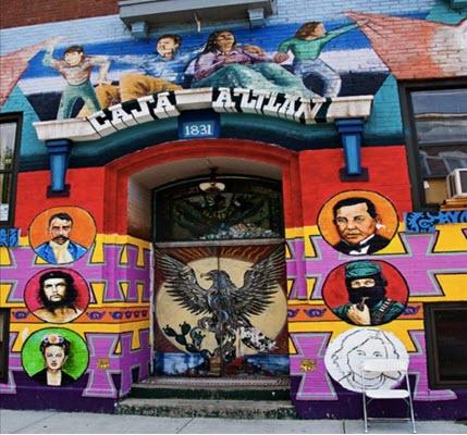 Literal Whitewashing of Chicago's Latino Murals