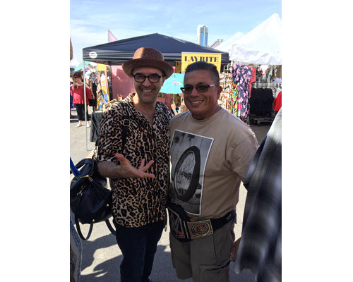 El Pachuco owner, Ray, Meets Cherry Poppin' Daddies In Vegas