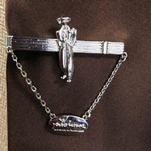 Pachuco Tie Clip- Silver