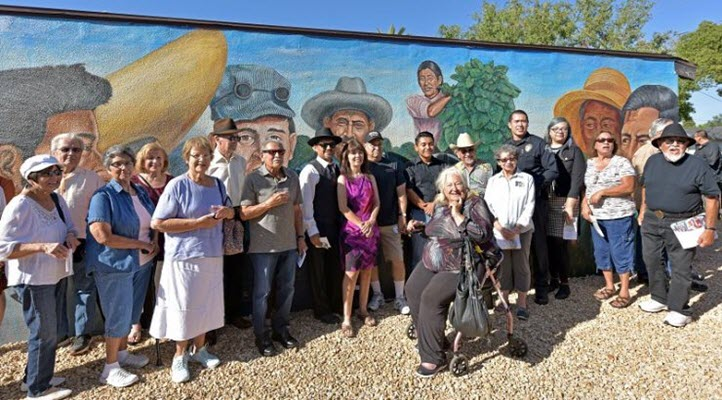 Tracing history, honoring a community