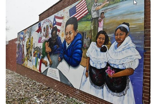 Mural celebrating Latino culture a Christmas gift to Pottstown