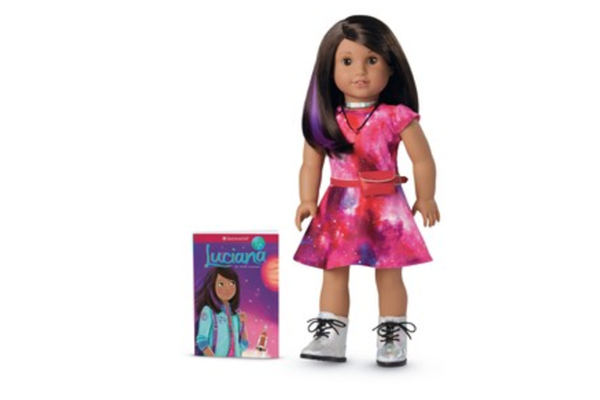 """Luciana Vega, New """"American Girl"""" doll, launched by Mattel"""