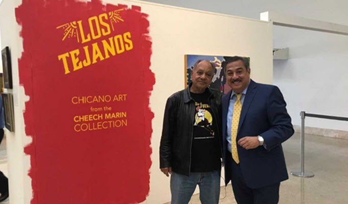 Comedian Cheech Marin brings Chicano art collection to Corpus Christi