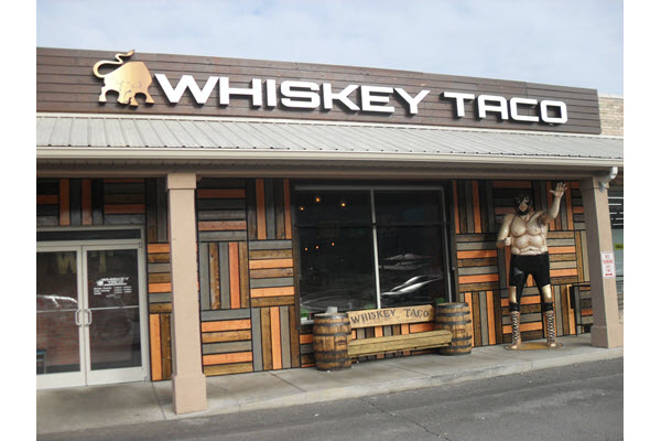Whiskey Taco serving up variety of eclectic Mexican-American fare