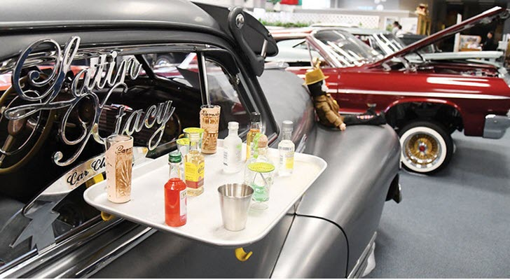 Lowriders roll into Cultural Center