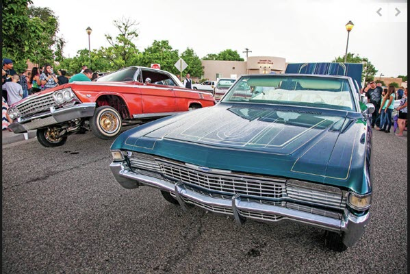 Lowriders get the limelight