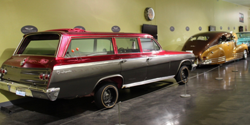 Lowriders on Route 66 featured at LeMay museum #2