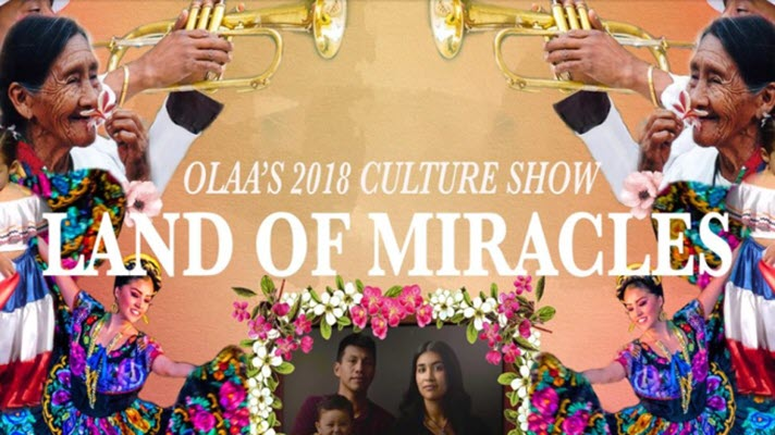OLAA Annual Culture Show And Latino Family Weekend to Start Friday
