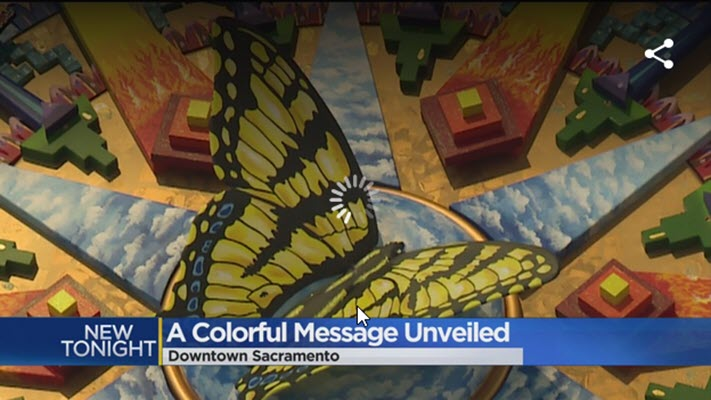 Mural At Golden 1 Center Honors Royal Chicano Air Force
