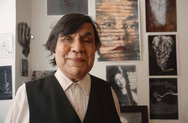 René Yañez, an elder of the Bay Area Chicano arts movement, presents a retrospective