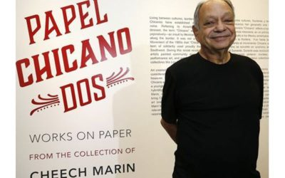 Legendary 'Cheech' Marin celebrates opening of his Chicano art collection in El Paso