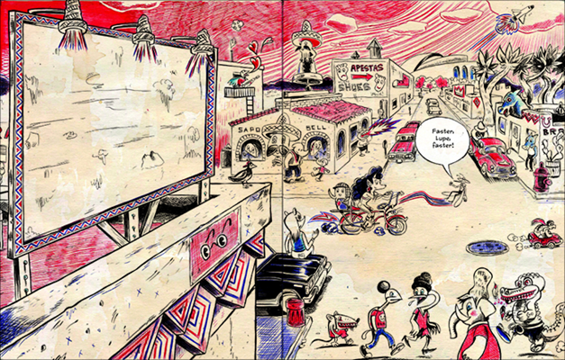 INTERVIEW: Nothing but Bic Pens Will Do for Latino Artist Raul the Third