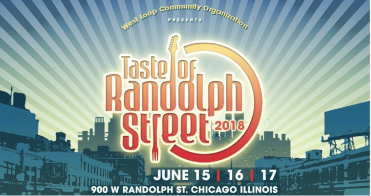 Chicago's Taste Of Randolph Street Announces 2018 Artist Lineup