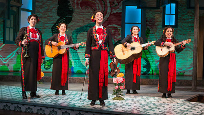 Hermanas Are Doin' It for Themselves in 'American Mariachi' at The Old Globe