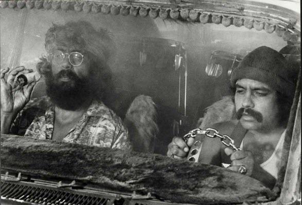Whoa, 'Cheech & Chong's Up in Smoke' is 40 years old, man