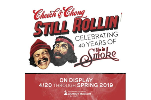 New Exhibit Celebrating the 40th Anniversary of CHEECH & CHONG's UP IN SMOKE To Open April 20