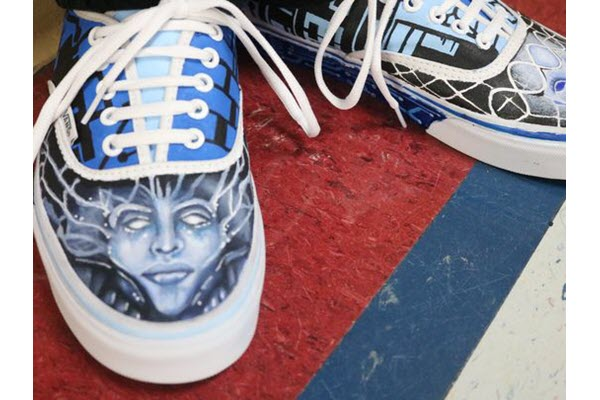 El Paso art students' lowrider and Pachuco design in Vans' top 50 shoe competition