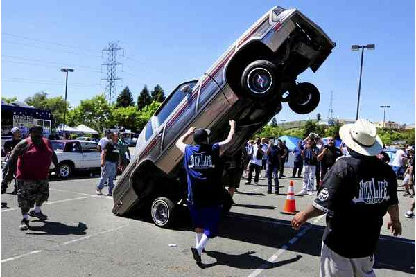 SickLife Lowriders host their first car show in Vallejo