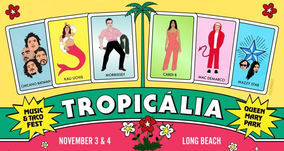 Tropicalia Fest Announces 2018 Lineup