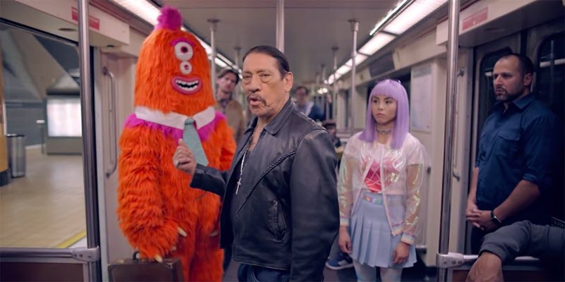 Danny Trejo Joins L.A's Insane Campaign About Not Being a Pain on the Train