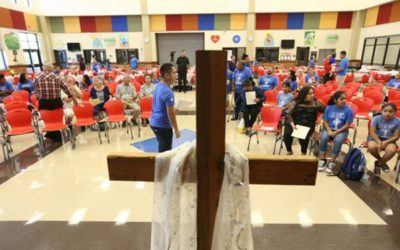 Hispanic church marks 100th birthday, continues search for building
