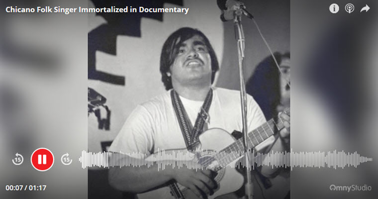 Chicano Folk Singer Immortalized in Documentary