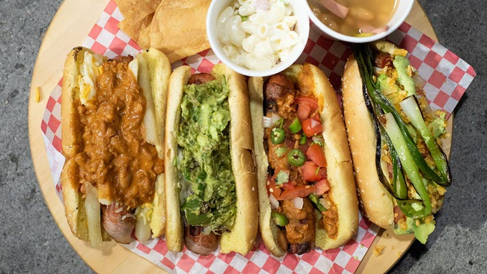 LA's New Street Food Star Melds Sinaloan Hot Dogs With Mexican-American Flavor