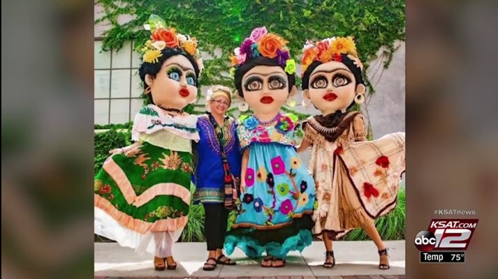 Local artist uses dolls to honor women who have made impact on Hispanic cultural arts