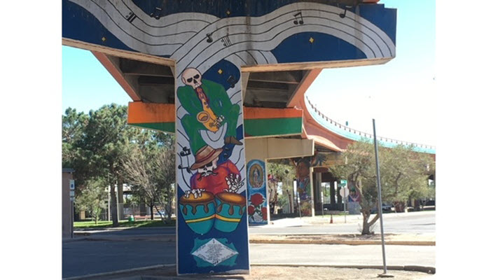 TxDOT project to remove 11 mural-covered columns in South-Central El Paso