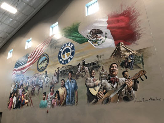 Pharr unveils mural depicting city's rich Mexican-American history