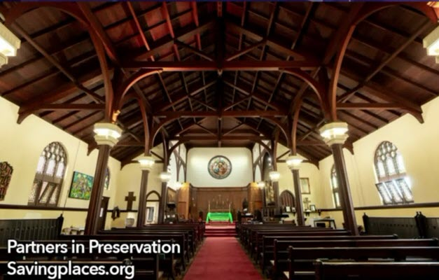 Church of the Epiphany Wins Restoration and Repair Grant