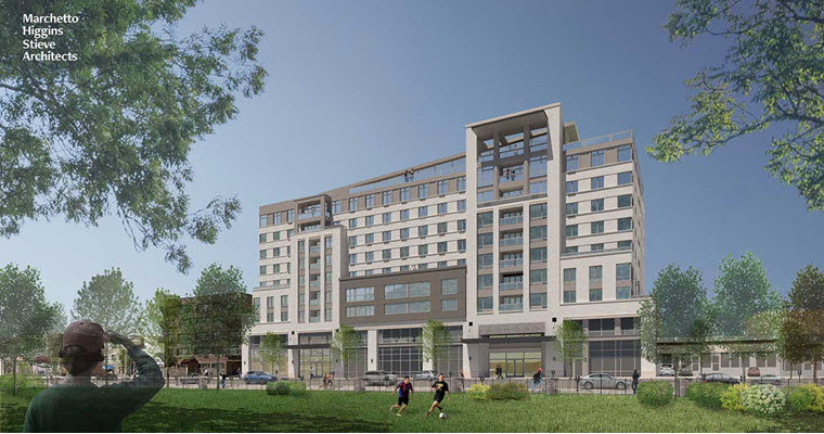 11-Story Building to Rise at the Mundo Latino Site in North Bergen
