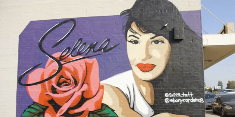 Latino Life: Selena Muralist Gets Creative in Fresno