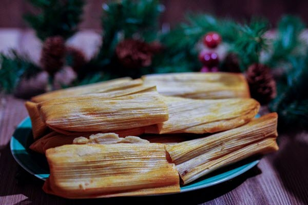 The labor-intensive tamale is a Christmas tradition for Latino families