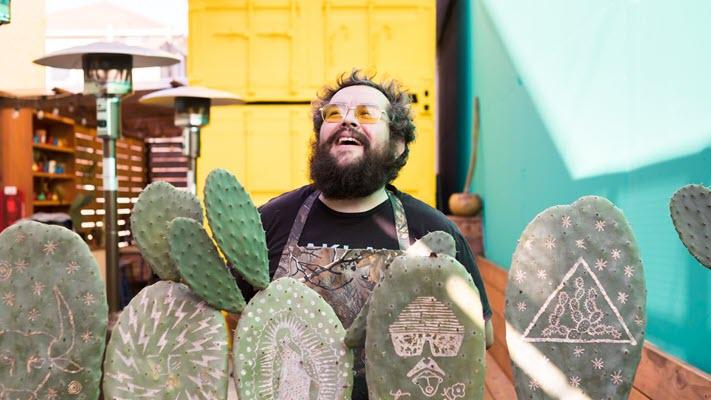 Inside Tacos Oscar's Bright Oakland-Style Taco Shop