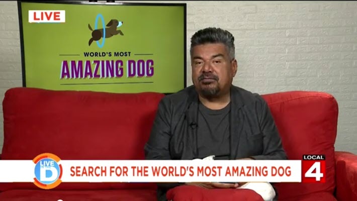Do you have the world's most amazing dog? George Lopez wants to know!
