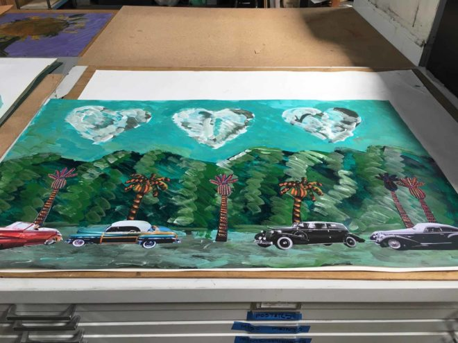 Muralist Frank Romero to leave his mark on a Highland Park parking lot