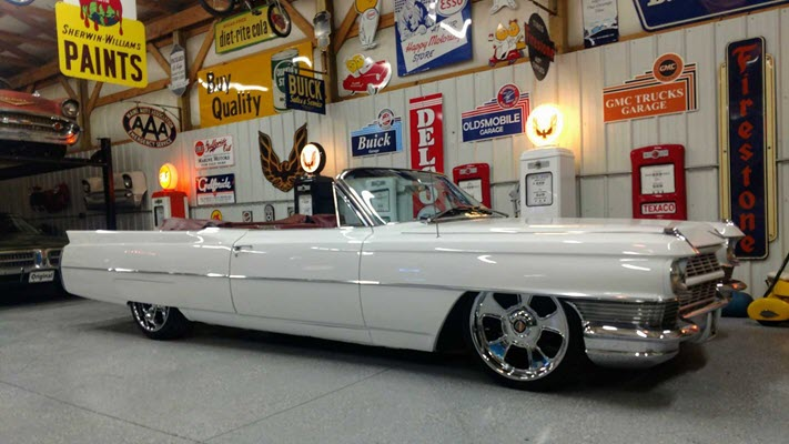 Stunning Lowrider Cadillac DeVille Ready For Auction At GAA