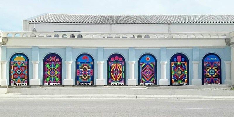 Corpus Christi Chicano Pop Panels for Sale