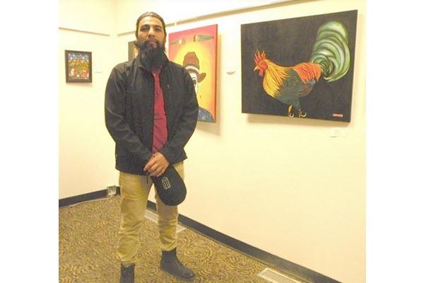 Angel Ramos featured at OJC reception for Hispanic Arts