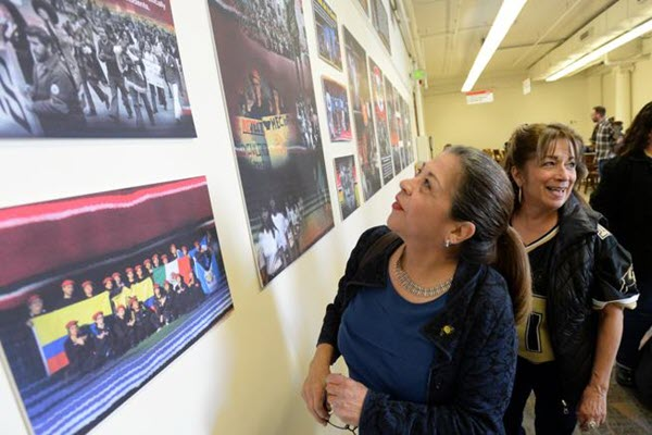 Exhibit's opening reception celebrates CU library acquisition of Chicano archives